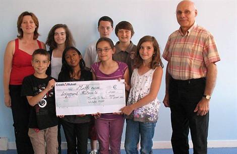 1 000 € remis à Logement fraternité – Rezé